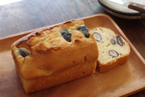 紫花豆と自家製味噌と信州産はちみつのパウンドケーキ_c0110869_1523351.jpg