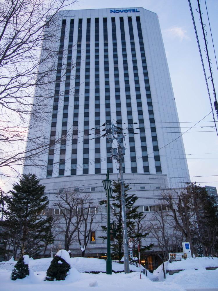 たまに都会(札幌)へ行ってみたいな(2)~ノボテル札幌・テレビ父さん~_f0276498_11462941.jpg