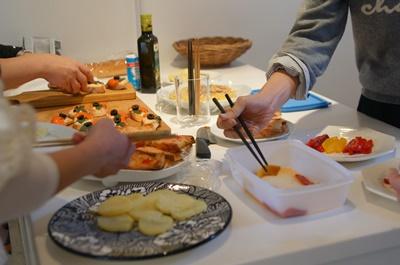 スペインバルのレシピでおもてなし~テーブル&フードクラス_d0217944_11301155.jpg