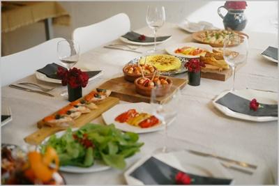 スペインバルのレシピでおもてなし~テーブル&フードクラス_d0217944_11374564.jpg