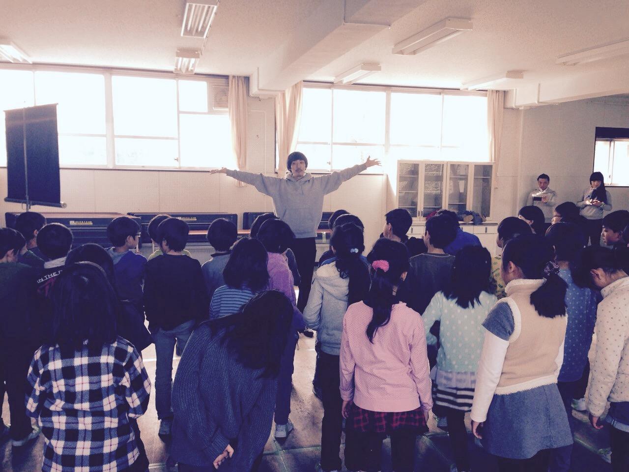 小学校タップダンス体験アウトリーチに行ってきました_f0137346_18224255.jpg