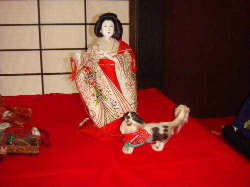 菊屋家所蔵のお雛人形飾り_f0101949_11421027.jpg