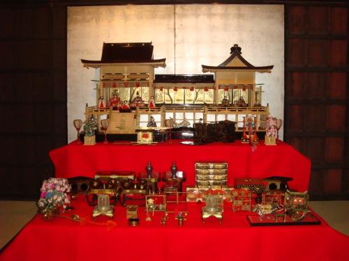 菊屋家所蔵のお雛人形飾り_f0101949_15173117.jpg