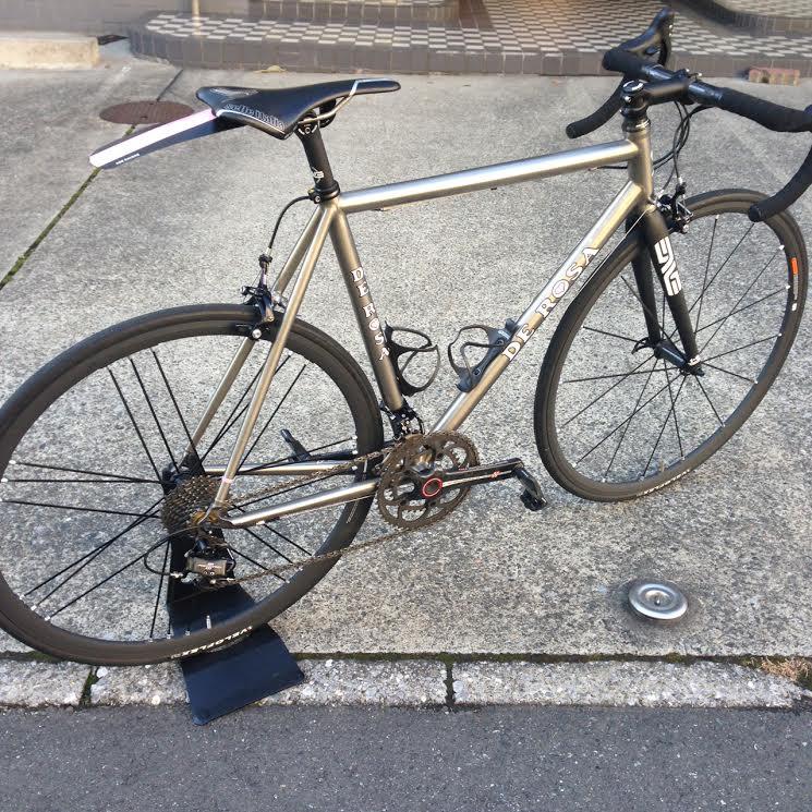 自転車の 自転車 フレーム 塗装 業者 : フレームの文様はご自身で ...