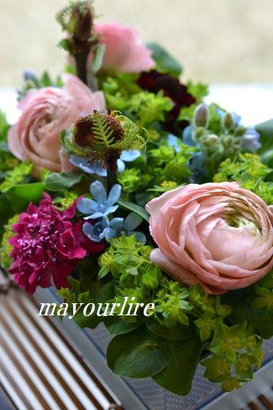 1月 NO2 テーブルコーディネート マユールライラ 海吉教室_d0169179_18344777.jpg
