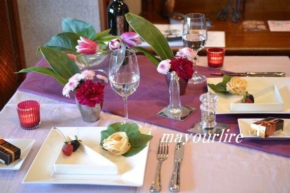 1月 NO2 テーブルコーディネート マユールライラ 海吉教室_d0169179_18414652.jpg