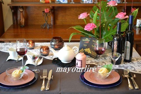 1月 NO2 テーブルコーディネート マユールライラ 海吉教室_d0169179_18474848.jpg