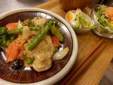 1/30晩ごはん:鶏のビネガー煮込み_a0116684_1843989.jpg
