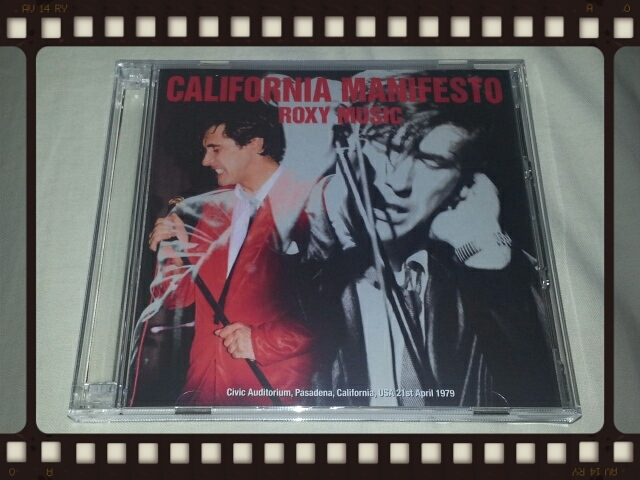ROXY MUSIC / CALIFORNIA MANIFESTO_b0042308_00150175.jpg