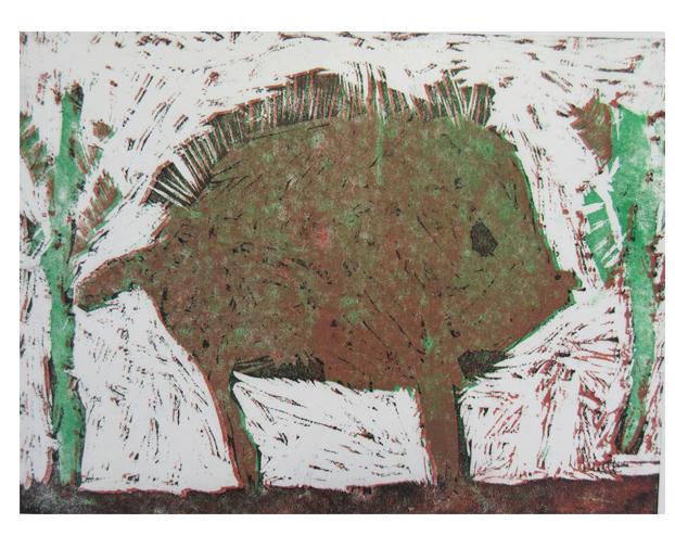 ほりすすみ版画に挑戦・小学生クラス(上高野)_f0211514_1828510.jpg