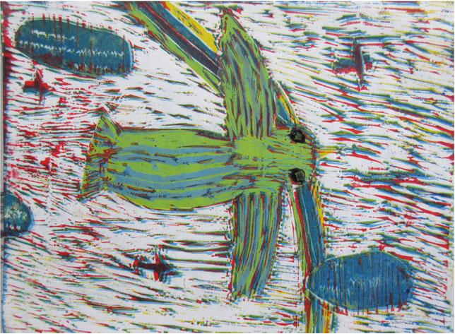 ほりすすみ版画に挑戦・小学生クラス(上高野)_f0211514_18321396.jpg
