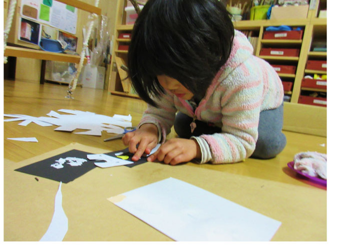 紙版画・幼児クラス(上高野・比良)_f0211514_19295692.jpg