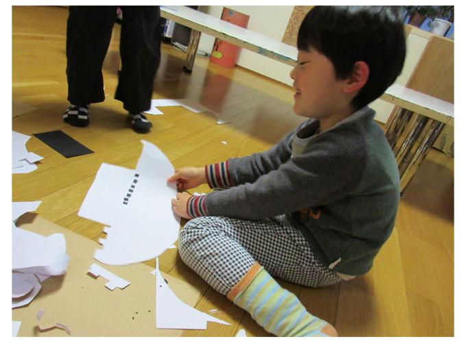 紙版画・幼児クラス(上高野・比良)_f0211514_19305619.jpg
