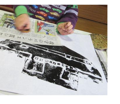 紙版画・幼児クラス(上高野・比良)_f0211514_19322452.jpg