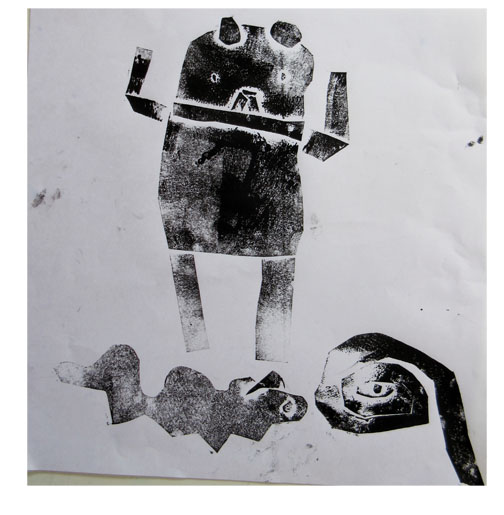 紙版画・幼児クラス(上高野・比良)_f0211514_19323984.jpg