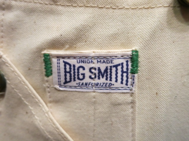 デッドストック BIG SMITH BIB OVER ALL!_c0144020_15242638.jpg