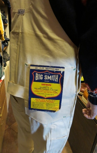 デッドストック BIG SMITH BIB OVER ALL!_c0144020_15243422.jpg