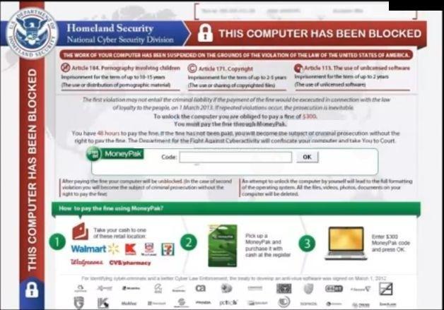 ウイルス Homeland Security の駆除方法と注意点_c0187320_15100653.jpg