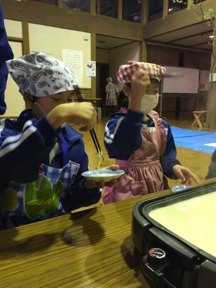 『大豆の加工してみたよ!!』服間小学校3年生の皆さん_e0061225_11545753.jpg