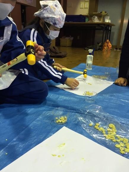 『大豆の加工してみたよ!!』服間小学校3年生の皆さん_e0061225_11583829.jpg