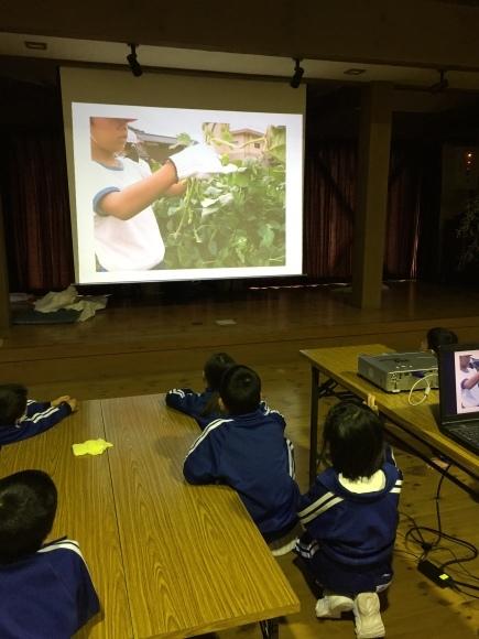 『大豆の加工してみたよ!!』服間小学校3年生の皆さん_e0061225_11592718.jpg