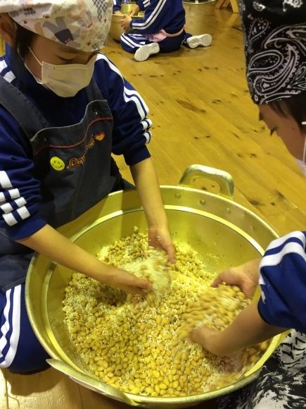 『大豆の加工してみたよ!!』服間小学校3年生の皆さん_e0061225_12542196.jpg