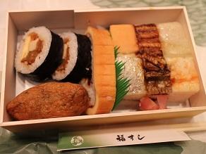 道行初音旅の謎と福すしの大阪寿司、それに睨み鯛_c0030645_21163384.jpg