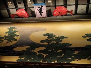 道行初音旅の謎と福すしの大阪寿司、それに睨み鯛_c0030645_21383821.jpg