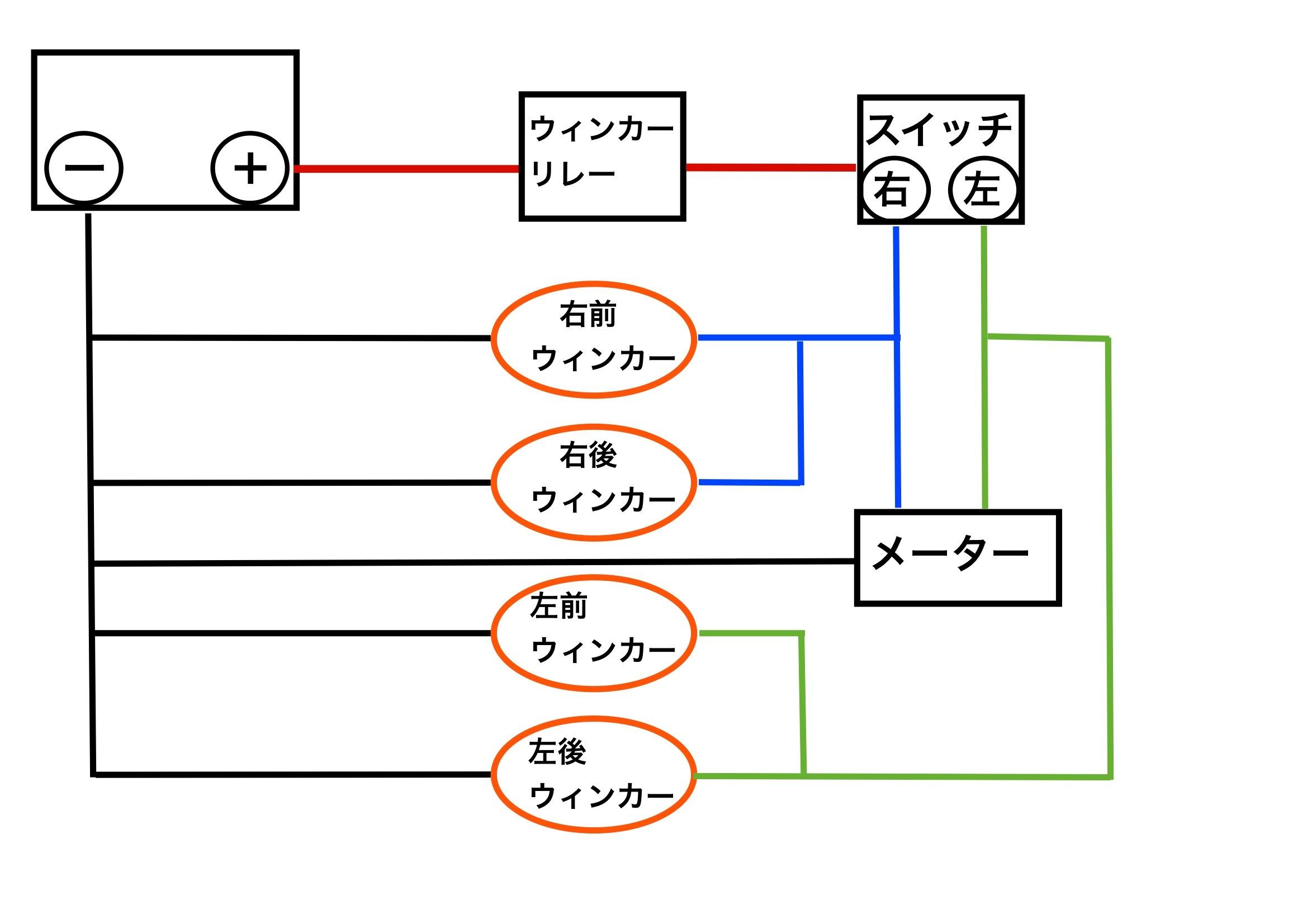 【DB7】ウィンカー配線_e0159646_3411136.jpg