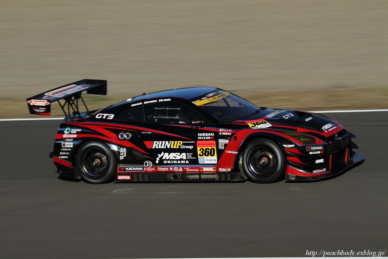 #360 TOMEI SPORTS_OKINAWA MSA・RUN UP GT-R(GT300)_c0215885_1735044.jpg