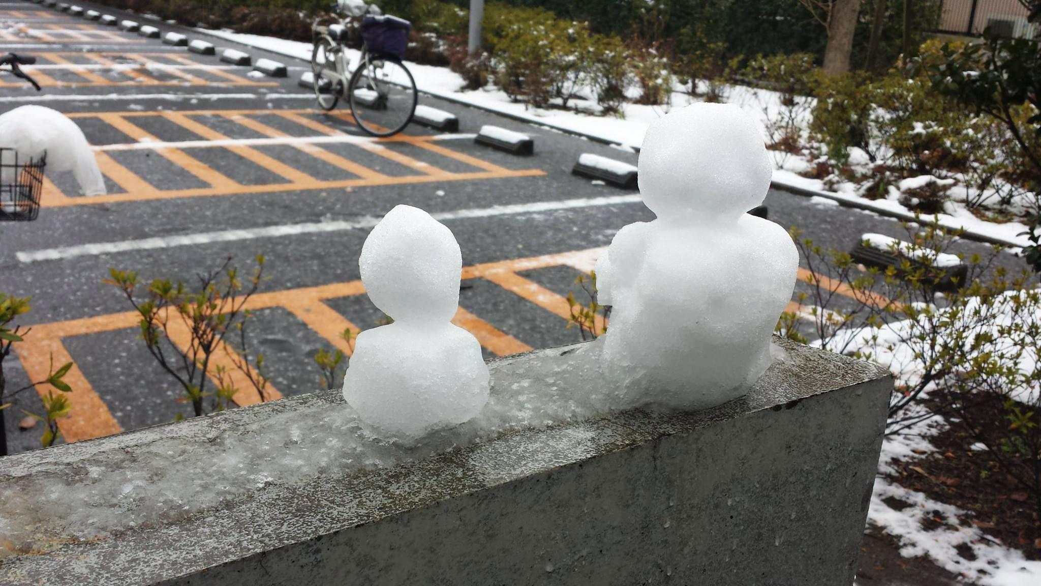 今から生徒chanの本番!ユニゾンの意味。…と、雪ッ_d0224894_17451892.jpg