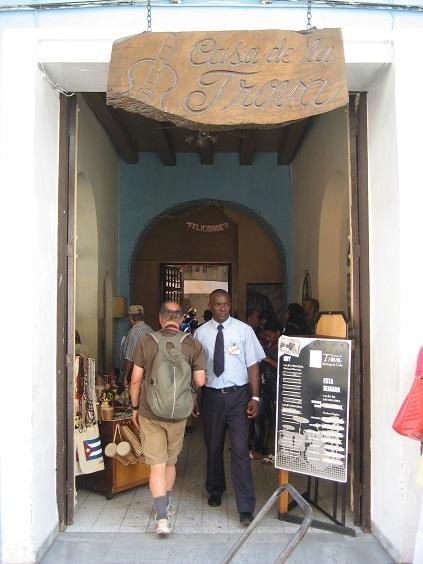 キューバ、トローバの家_a0103940_23532391.jpg