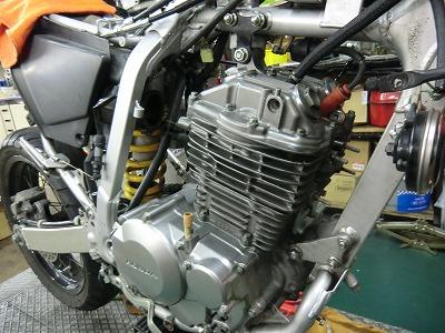 XR250 エンジンOH完了!_e0114857_20202135.jpg