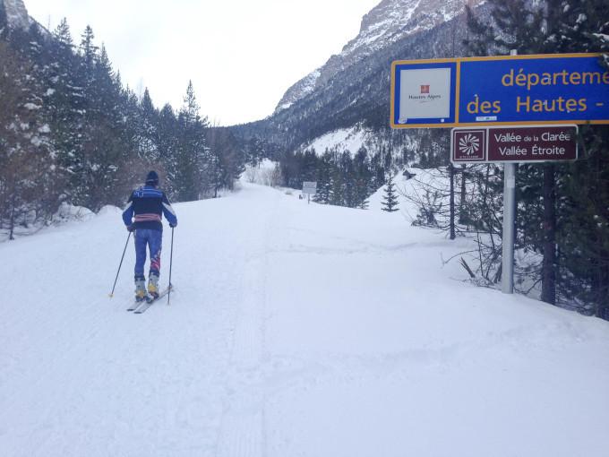 雪山さんぽ とクロスカントリー Sci di fondo a Bardonecchia_b0246303_21475013.jpg