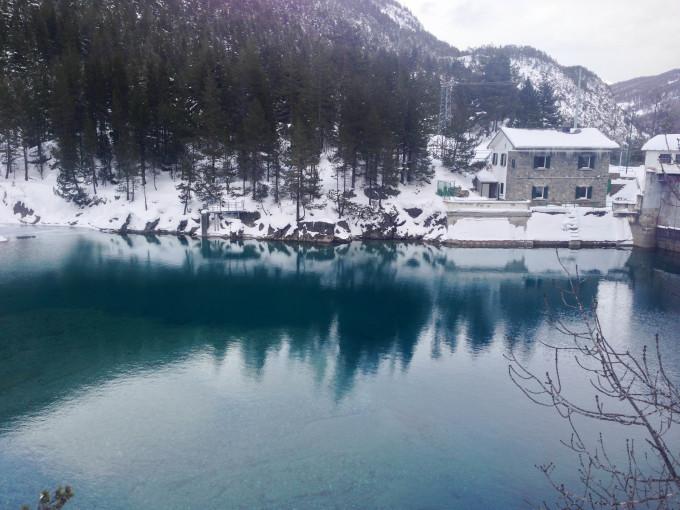 雪山さんぽ とクロスカントリー Sci di fondo a Bardonecchia_b0246303_21521255.jpg