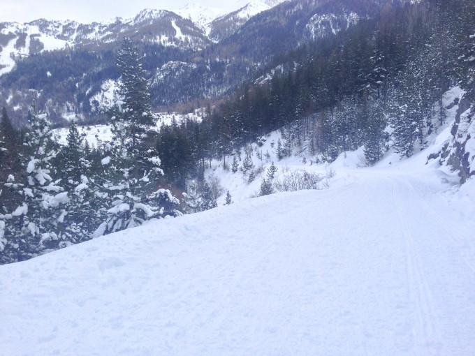 雪山さんぽ とクロスカントリー Sci di fondo a Bardonecchia_b0246303_21542046.jpg