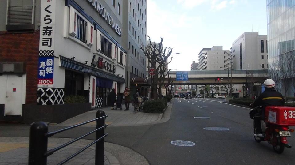 SAORI豊崎長屋への行き方 地下鉄中津駅から編_d0295916_1420468.jpg