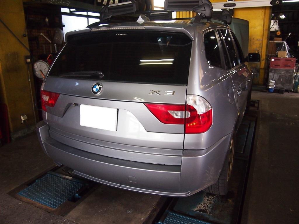 BMW・X3にザックス・パフォーマンスプラスを装着させていただきました。_e0188729_17561039.jpg