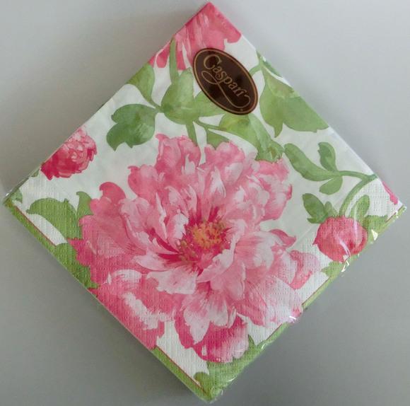 ◆デコパージュ*華やかなお花のミニコロコロ_f0251032_035512.jpg