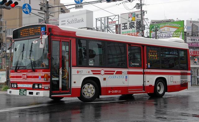 京阪バス~レインボーHR9mノンステップバス  N-3189_a0164734_200260.jpg