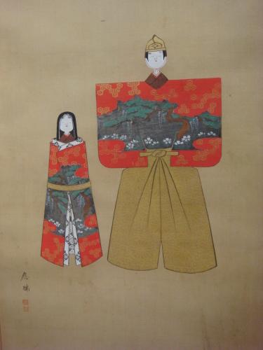 菊屋家所蔵のお雛人形飾り_f0101949_13533997.jpg