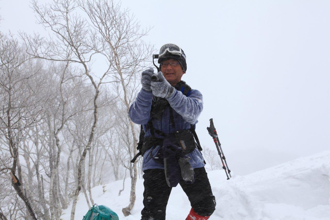 多峰古峰山、2月1日-同行者からの写真-_f0138096_12571442.jpg