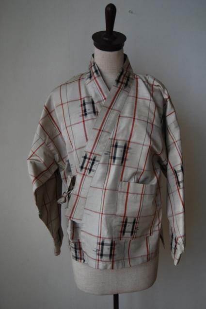 着物リメイク・紬で作った作務衣_d0127925_10492100.jpg