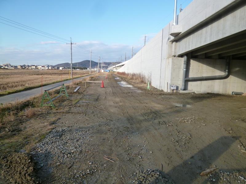 上部工(足守川の中撫川地区)の完成時期が近づいています。_c0326333_07381466.jpg