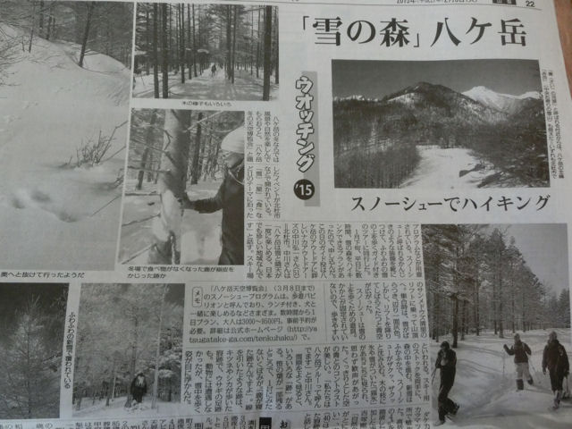 雪の森「八ヶ岳」& 寒いほどお得!_f0019247_2122921.jpg