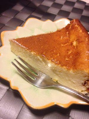 チーズケーキ作りました。_a0175348_21162055.jpg