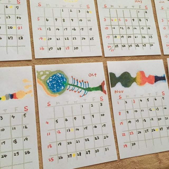 2015年カレンダーできました。_e0016687_165464.jpg