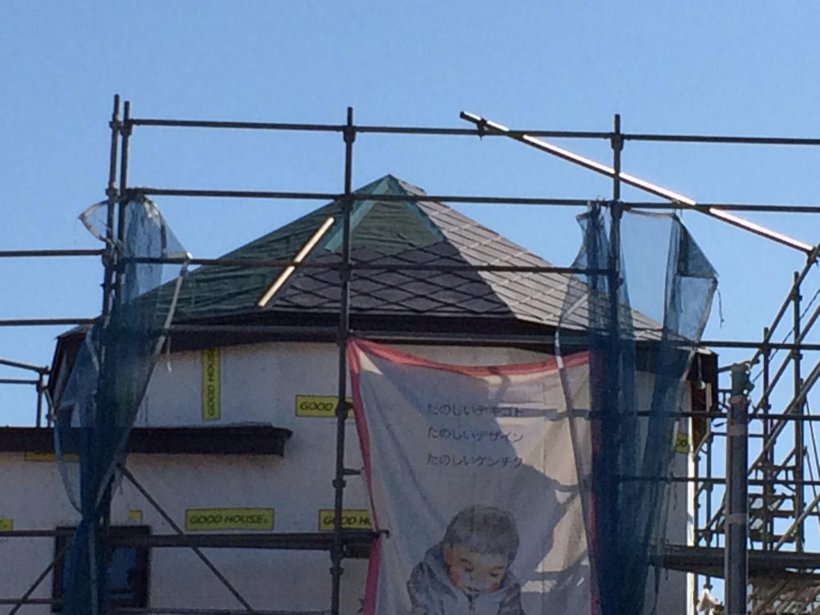 チョコレート色の屋根。〜つくば市Yさま邸_a0117794_15554021.jpg