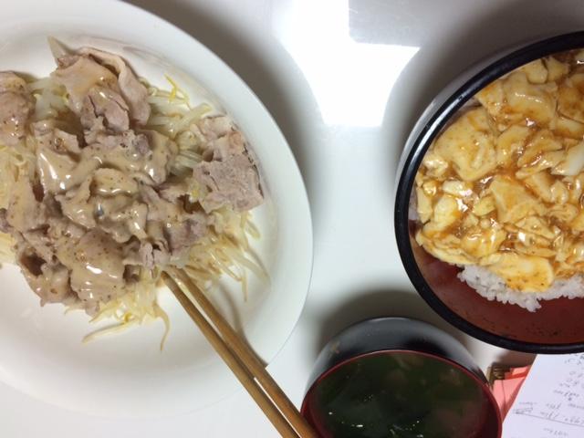 お料理ーまーぼー_e0114246_3422336.jpg
