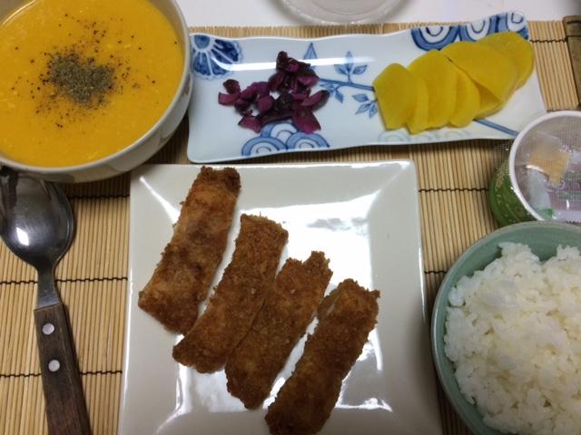 お料理ー人参スープ_e0114246_3561245.jpg